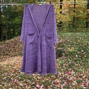 Light weight  long cardigan. Super soft